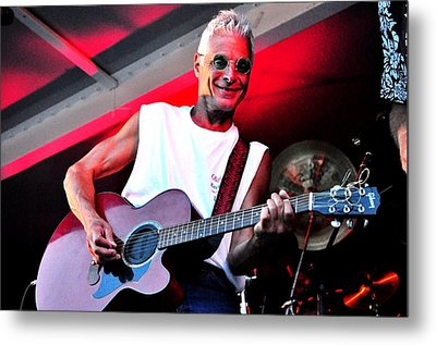 Jack Bordo With Old Friends Band Reunion 2010 Metal Print by Mary Frances