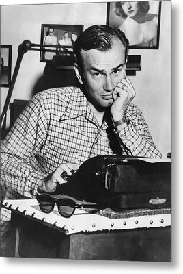 Jack Paar 1918-2004, American Radio Metal Print by Everett