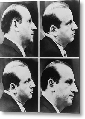 Jack Ruby 1911-1967 During His Trial Metal Print by Everett