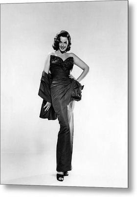 Jane Russell, Ca. Early 1950s Metal Print by Everett