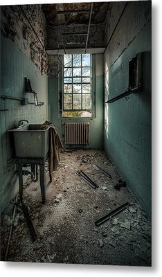 Janitors Closet Metal Print by Gary Heller