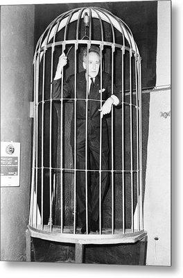 Jean Cocteau 1889-1963, Inside A Huge Metal Print by Everett