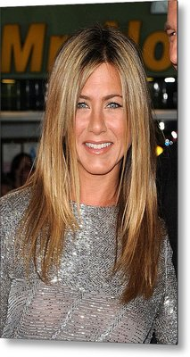 Jennifer Aniston At Arrivals For Love Metal Print by Everett