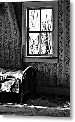 Jennys Room Metal Print by JC Photography and Art