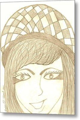 Jezebel   Metal Print by Shayna  Keach