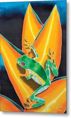 Joe's Treefrog Metal Print by Daniel Jean-Baptiste