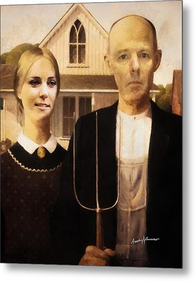 John And Kate Plus Eight Metal Print by Anthony Caruso