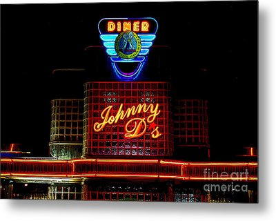 Johnny D's Metal Print by Guy Harnett
