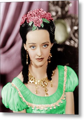 Juarez, Bette Davis, 1939 Metal Print by Everett