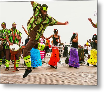 Jump Up Metal Print by Kendall Eutemey