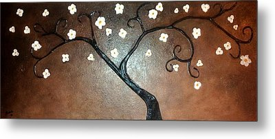 Just Thirty Two Flowers Metal Print by Edwin Alverio