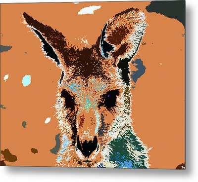 Kanga Roo Metal Print by David Lee Thompson