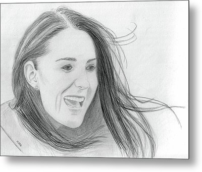 Kate Middleton - Duchess Of Cambridge Metal Print by Pat Moore