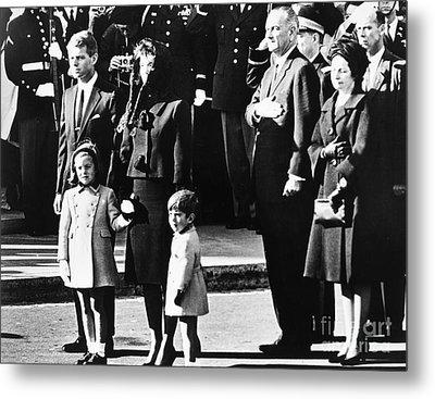 Kennedy Funeral, 1963 Metal Print by Granger