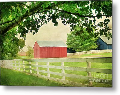 Kentucky Country Side Metal Print by Darren Fisher