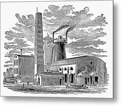 Kentucky: Factory, 1876 Metal Print by Granger