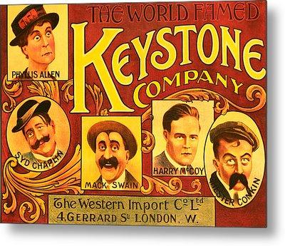 Keystone Film Company, Promotional Metal Print by Everett