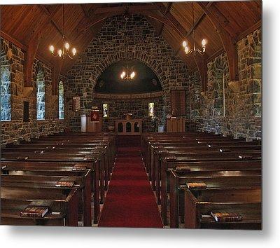 Kilmore Church Dervaig Metal Print by Steve Watson