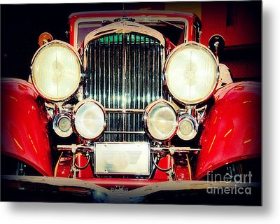 King Of The Road Metal Print by Susanne Van Hulst