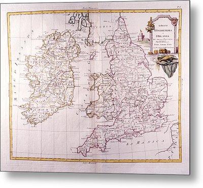 Kingdom Of England And Ireland Metal Print by Fototeca Storica Nazionale