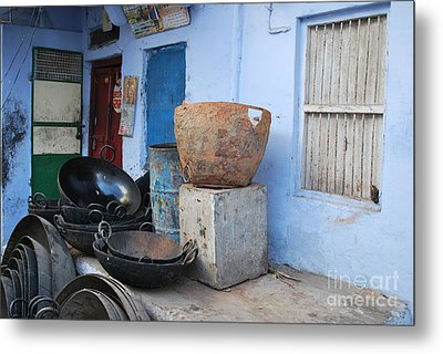 Kitchen Metal Print by Jen Bodendorfer