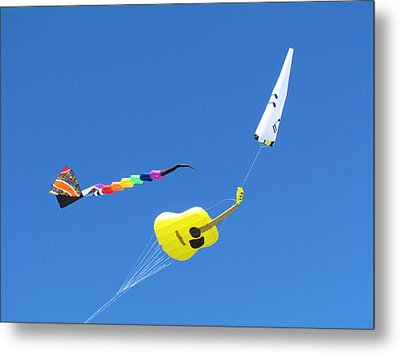 Kite's Metal Print by Joyce Woodhouse