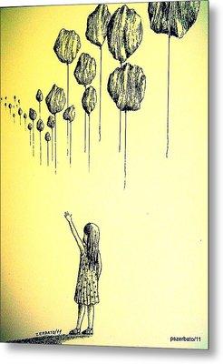 Knowledge Without Wisdom I Metal Print by Paulo Zerbato
