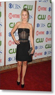 Kristen Bell Wearing A Versus Dress Metal Print by Everett
