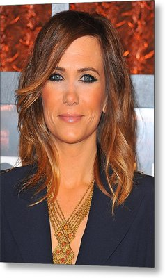 Kristen Wiig In Attendance For The Metal Print by Everett