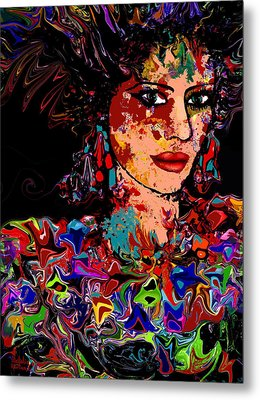 La Bella Metal Print by Natalie Holland