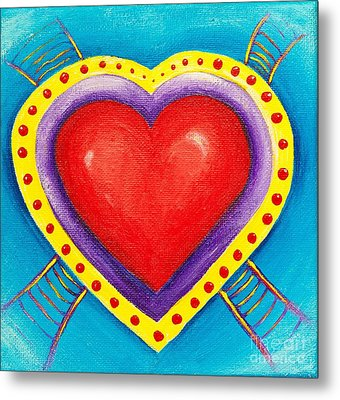 Ladders To Your Heart Metal Print by Melle Varoy