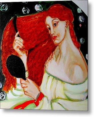 Lady Lilith Metal Print by Rusty Woodward Gladdish