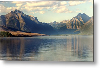 Lake Mcdonald At Sunset Metal Print by Marty Koch