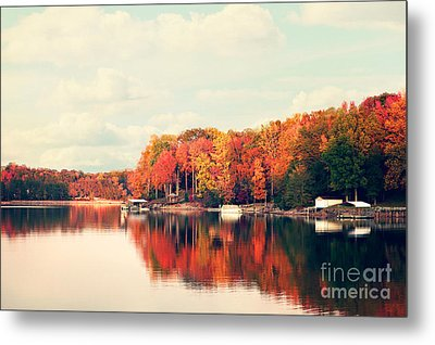 Lake Norman North Carolina Metal Print by Kim Fearheiley
