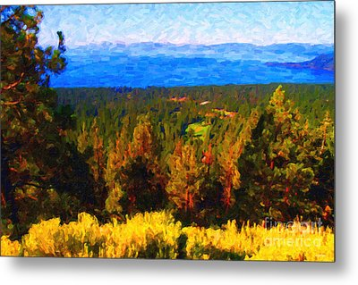 Lake Tahoe Metal Print by Wingsdomain Art and Photography