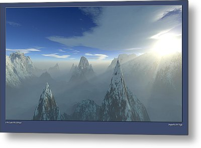 Land Of The Extremes Metal Print by Erik Tanghe