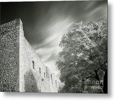 Landscape In Infra Red Metal Print by Odon Czintos