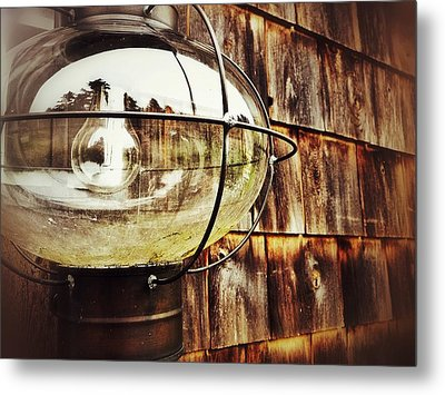 Lantern Metal Print by Olivier Calas