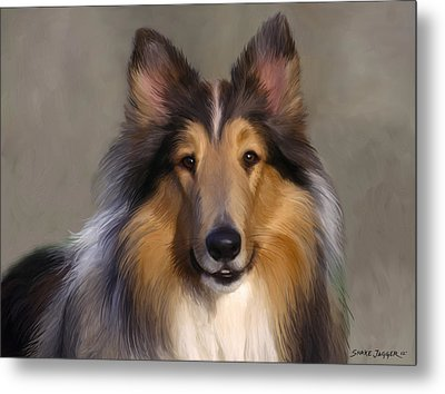 Lassie Come Home Metal Print by Snake Jagger