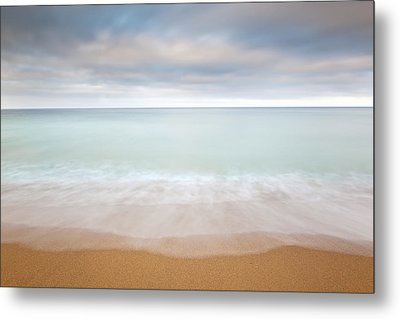 Le Pouldu Beach, Southern Brittany, France Metal Print by Nick Cable