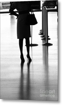 Leaving On A Jet Plane Metal Print by Rene Triay Photography