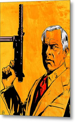 Lee Marvin Metal Print by Giuseppe Cristiano