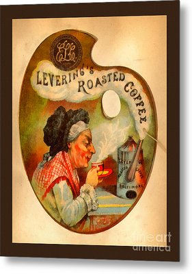 Levering's Roasted Coffee Metal Print by Anne Kitzman