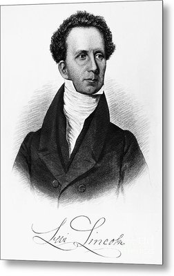 Levi Lincoln (1749-1820) Metal Print by Granger