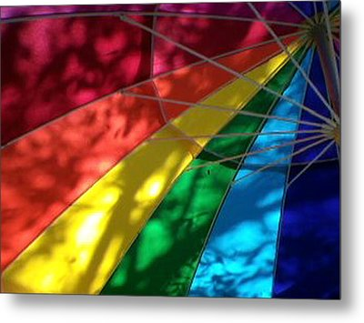 Light And Shadow Metal Print by Ginny Schmidt