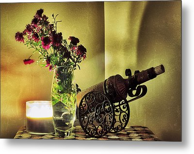 Lighted Petals Metal Print by Scott  Wyatt