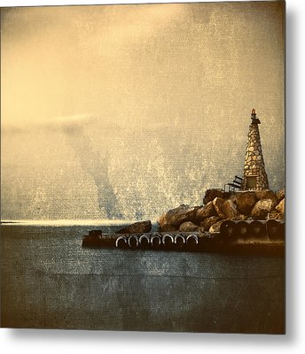 Lighthouse Metal Print by Stelios Kleanthous