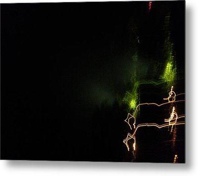 Lights  Metal Print by Rosvin Des Bouillons