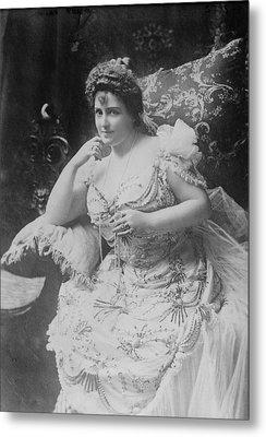 Lillian Russell 1861-1922, The Plump Metal Print by Everett