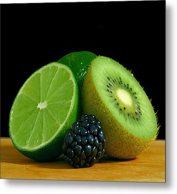 Lime It Up Metal Print by Davor Sintic